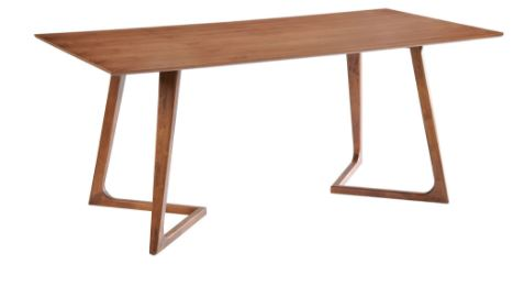Mesa Retangular Dinamarca MDF Seringueira - Moln Design Furniture
