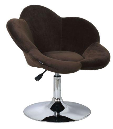 Poltrona Carmen Veludo Marrom - Moln Design Furniture