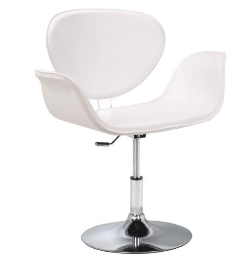 Poltrona Tulipa PU Branco - Moln Design Furniture