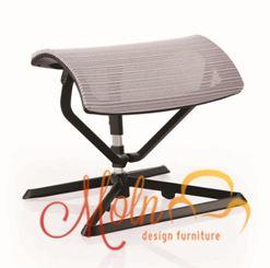 Suporte para Pés Ottoman Mesh Cinza - Moln Design Furniture