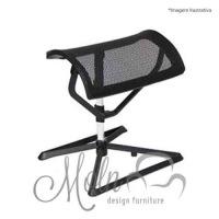 Suporte para Pés Ottoman Mesh Preto - Moln Design Furniture