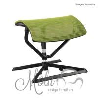 Suporte para Pés Ottoman Mesh Verde - Moln Design Furniture