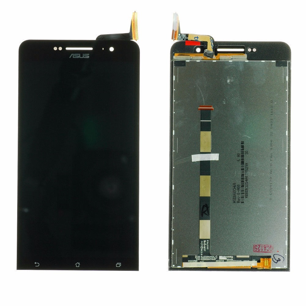 Tela Touch Screen Lcd Asus Zenfone 6 A600 A601 Original