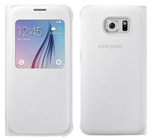 Capa Flip Cover S-view Original Samsung Galaxy S6 Sm-g920