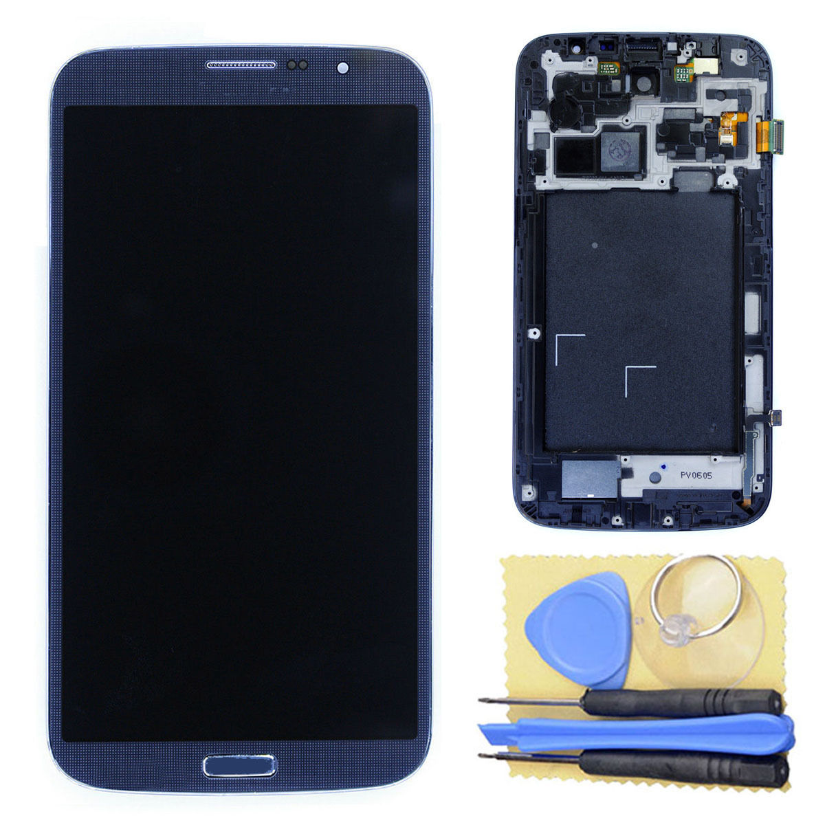 Tela Display Lcd Touch Screen Samsung Galaxy Mega 6.3 Origin