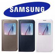 Capa Flip Cover S-view Original Samsung Galaxy S6 Sm-g920