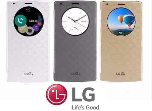 Capa Case Flip Cover Quick Circle Lg G4 H812 H815 Original