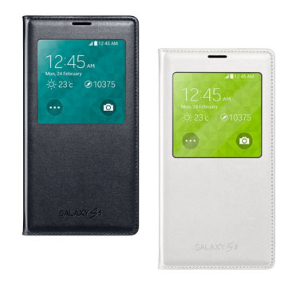 Capa Flip Cover S-view Similar Galaxy S5 I9600