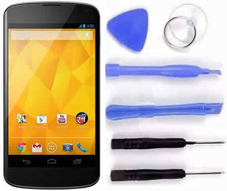 Tela Display Touch Screen 100% Original Para Lg Nexus 4 E960