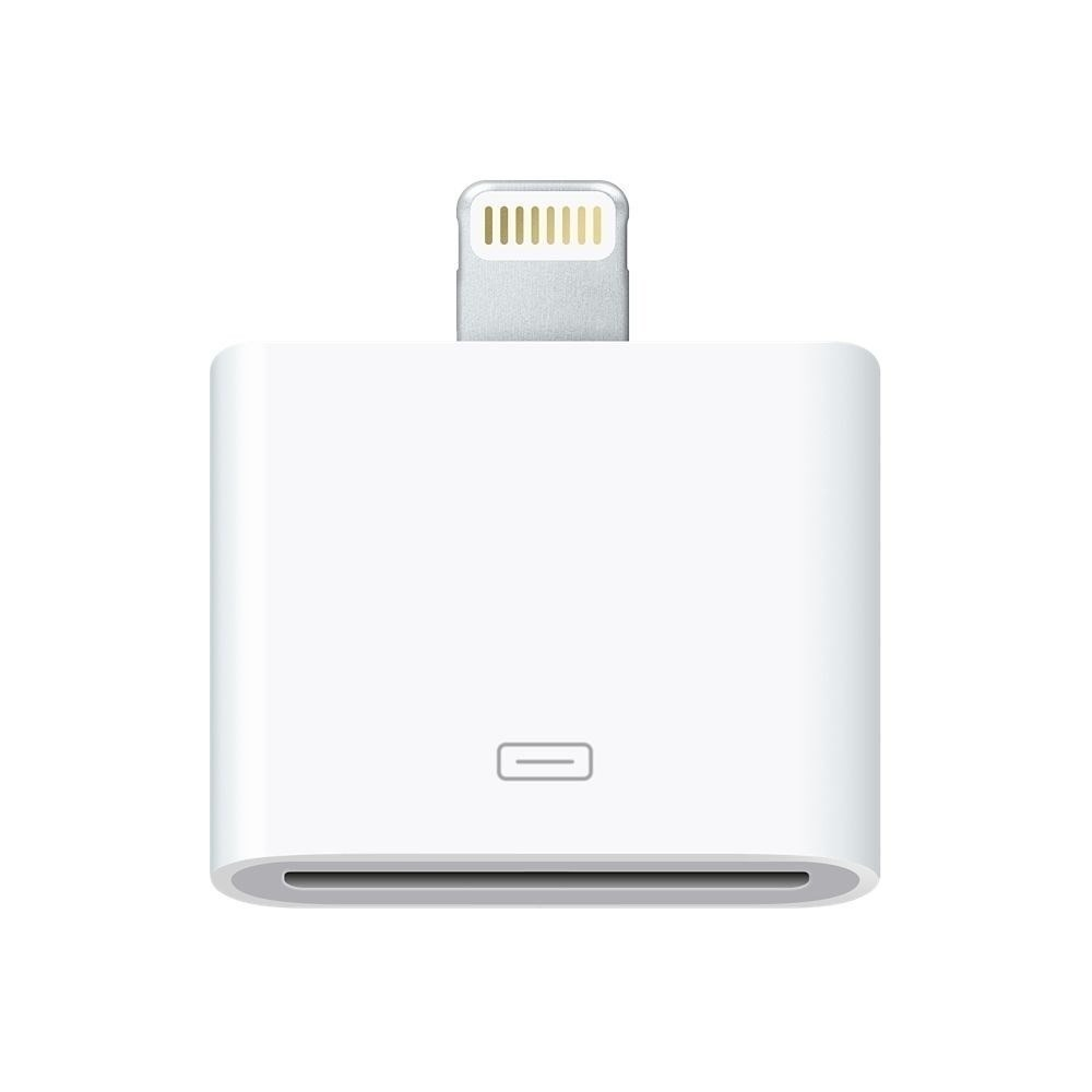 ADAPTADOR APPLE LIGHTNING PARA 30 PIN AUDIO 4S/5S SIMILAR