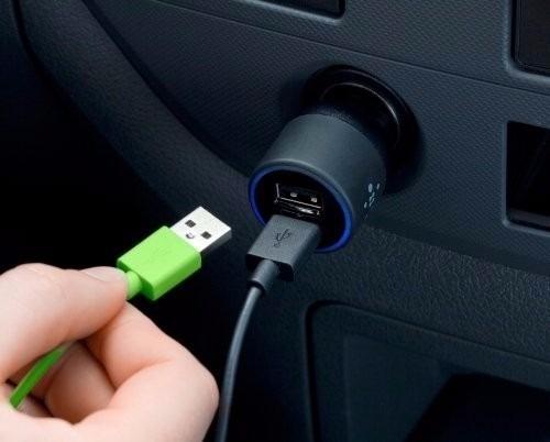 CARREGADOR VEICULAR DUAL BELKIN ENTRADA MICRO USB ORIGINAL