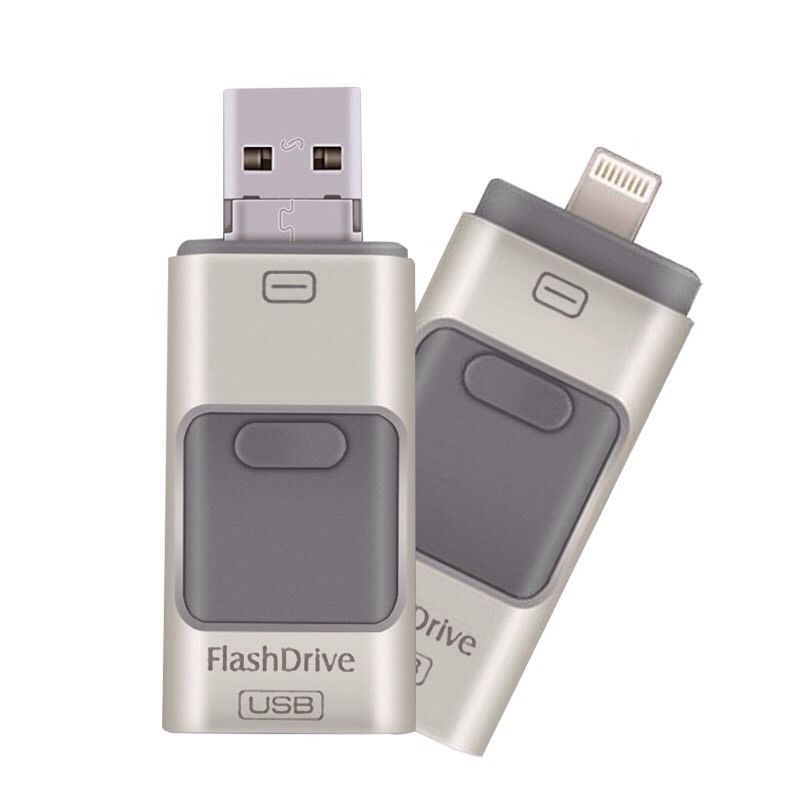 Pendrive iFlashdevice Lightning MicroUSB iPhone Android 32GB