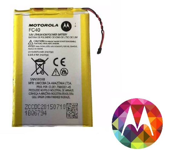 Bateria Motorola Moto G3 Original Fc40 Xt1543 Xt1544