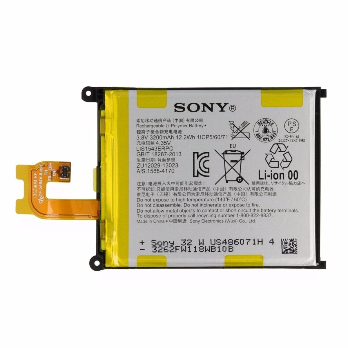 Bateria Sony Xperia Z2 D6502 D6503 D6543 Original