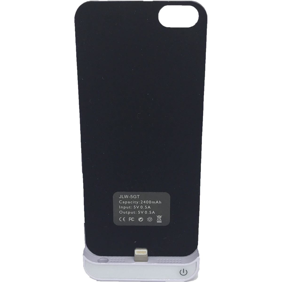 Capa Carregadora Powerbank Externa Ultrá Fina iPhone 5 5S 5C SE 2400mah