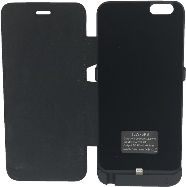 Capa Carregadora Powerbank Bateria Externa iPhone 6 Plus 5000mah
