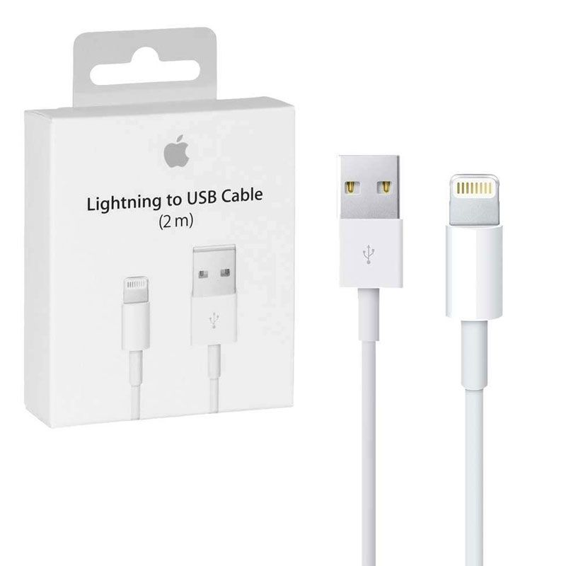 Cabo de Dados e Carga  Apple Lightning 2m iPhone