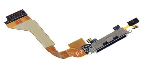 Cabo Flex Conector Dock Carga Audio Antena iPhone 4 Original