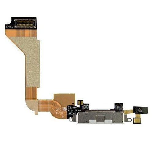 Cabo Flex Conector Dock Carga Audio Antena iPhone 4S