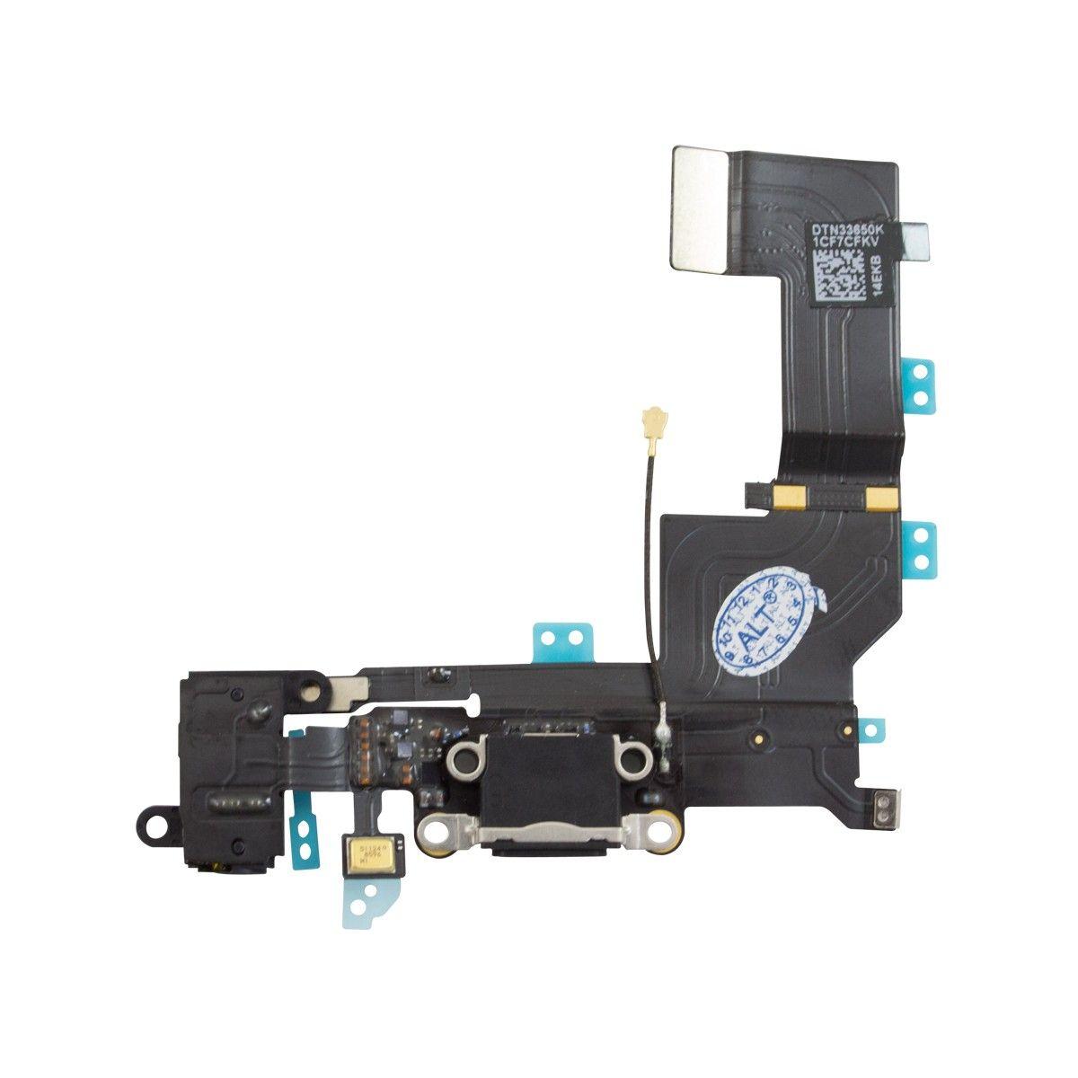 Cabo Flex Conector Dock Carga Audio Antena iPhone 5C Original