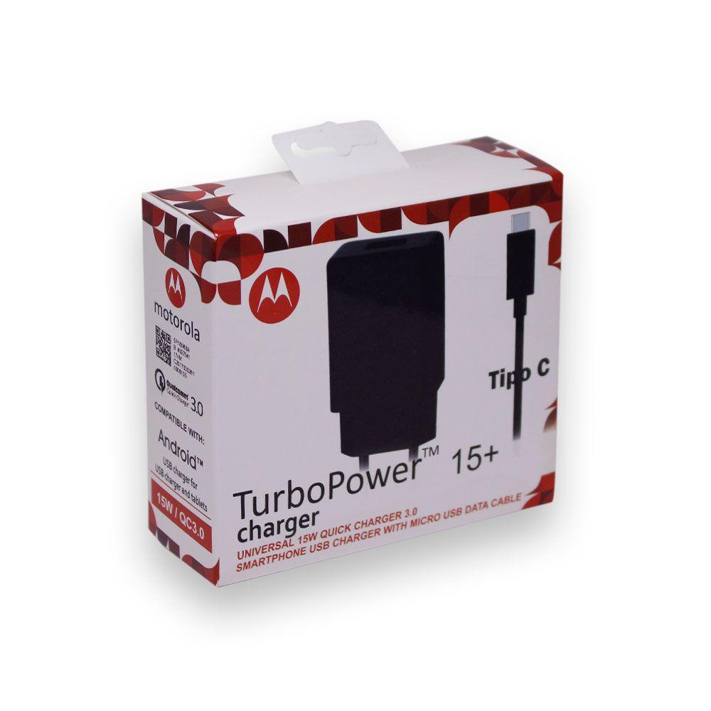 Carregador de Parede Motorola TurboPower Tipo C