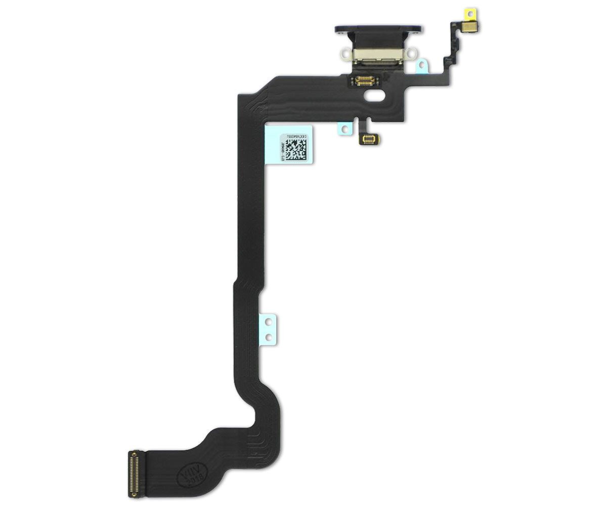 Cabo Flex Conector Dock Carga Audio Antena iPhone X 10