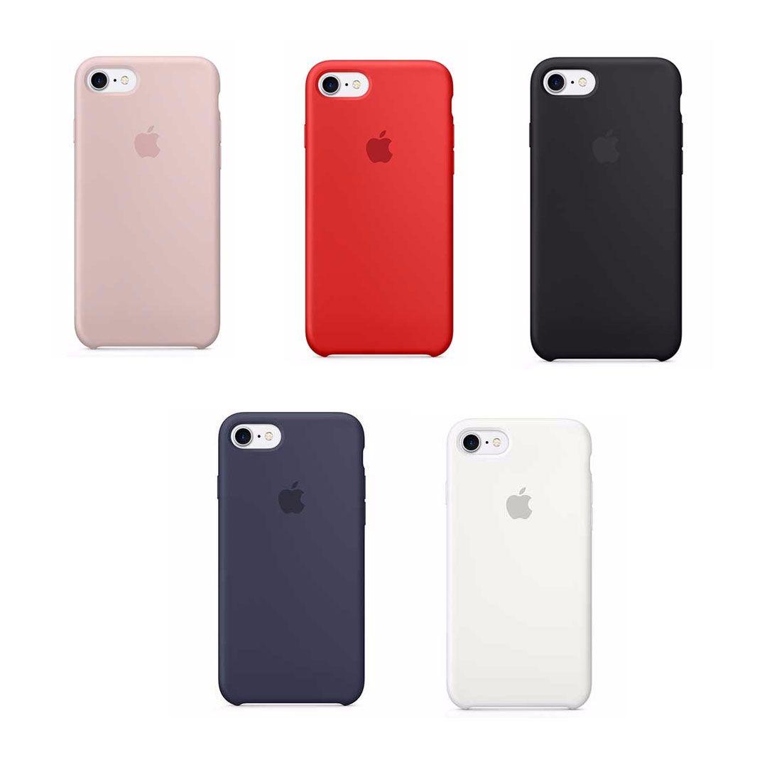 Kit Tela Display iPhone 8 Premium Branco + Bateria + Capa Apple Azul Escura