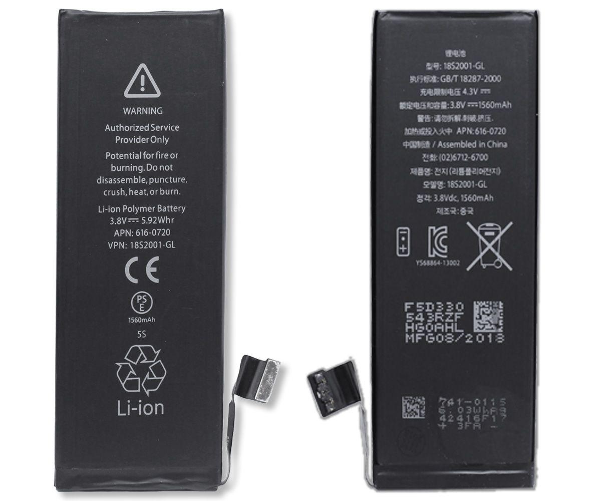 Kit Tela Display iPhone 5C Standard + Bateria + Película