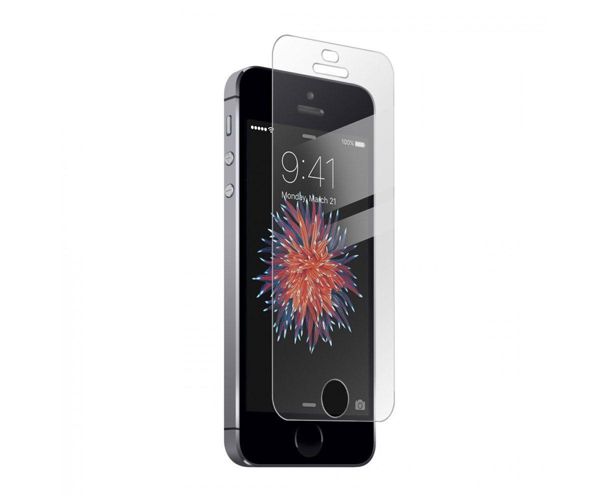 Kit Tela Display iPhone 5S Standard Preto + Bateria + Película