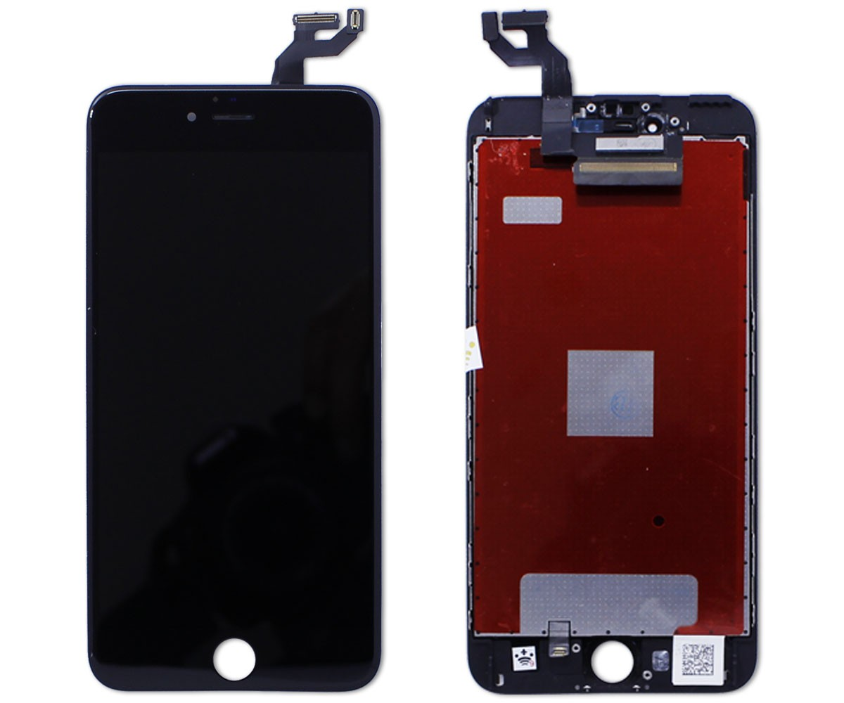 Kit Tela Display LCD iPhone 6S Plus Standard Preto + Bateria 2759 mAh