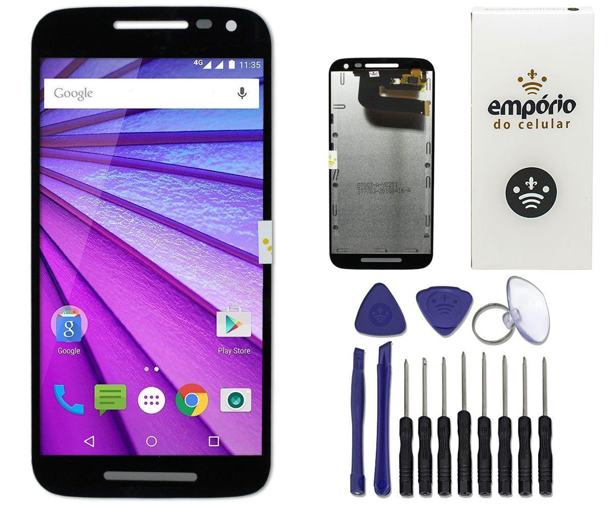 Tela Touch Screen Display LCD Motorola Moto G3 Original