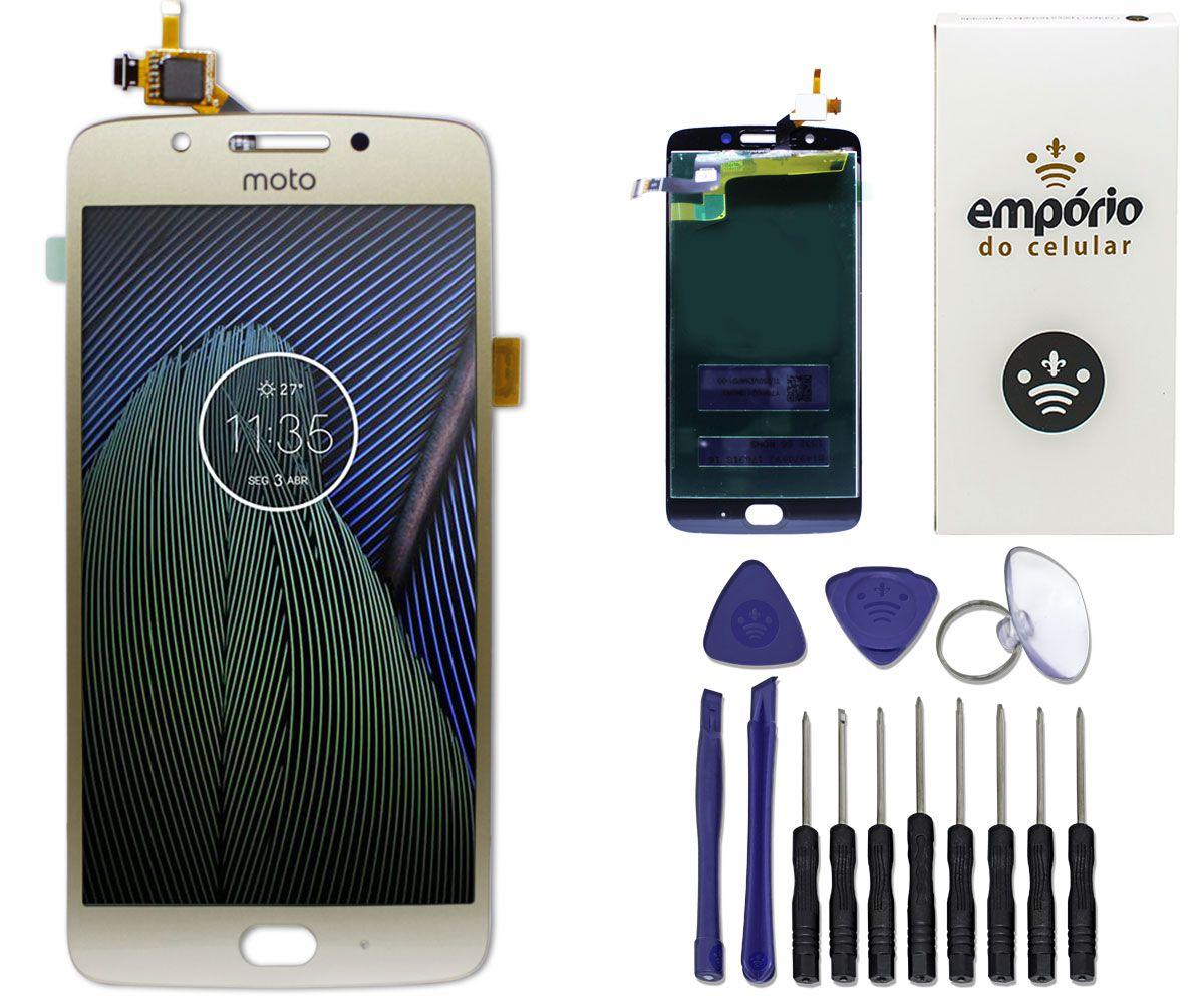 Tela Touch Screen Display LCD Motorola Moto G5 Original