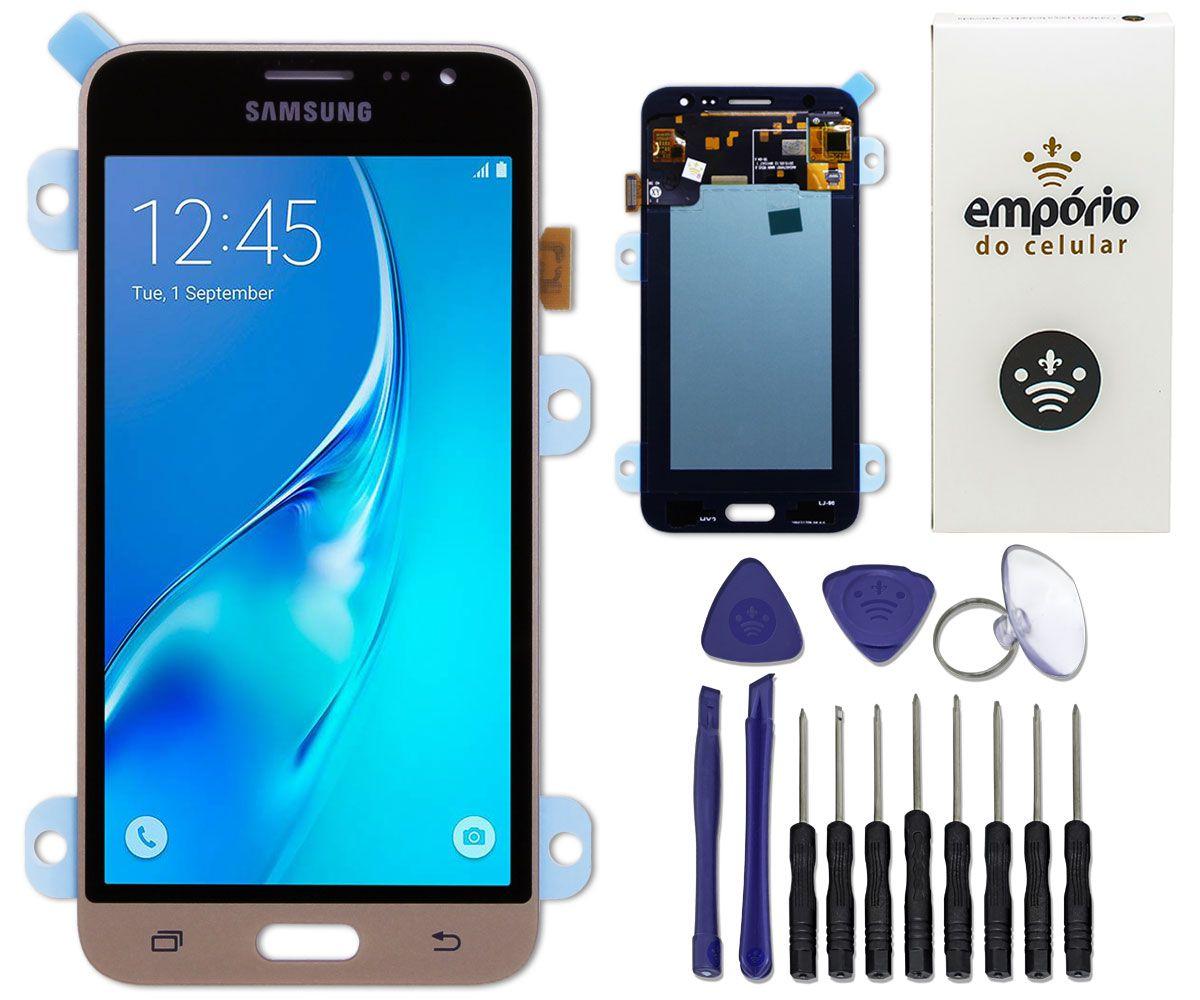Tela Touch Screen Display LCD Samsung Galaxy J3