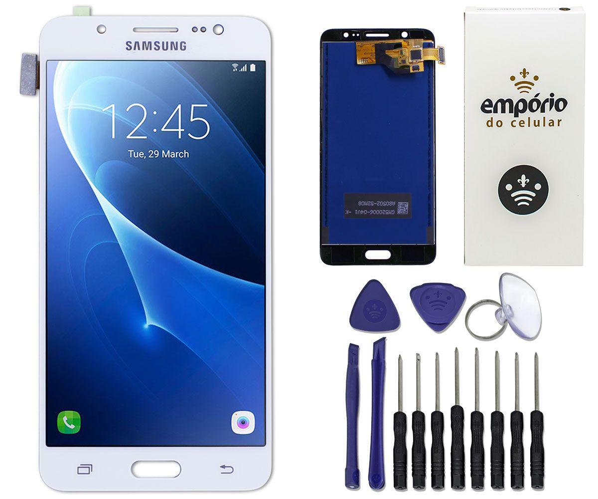 Tela Touch Screen Display LCD Samsung Galaxy J5 2016 Metal
