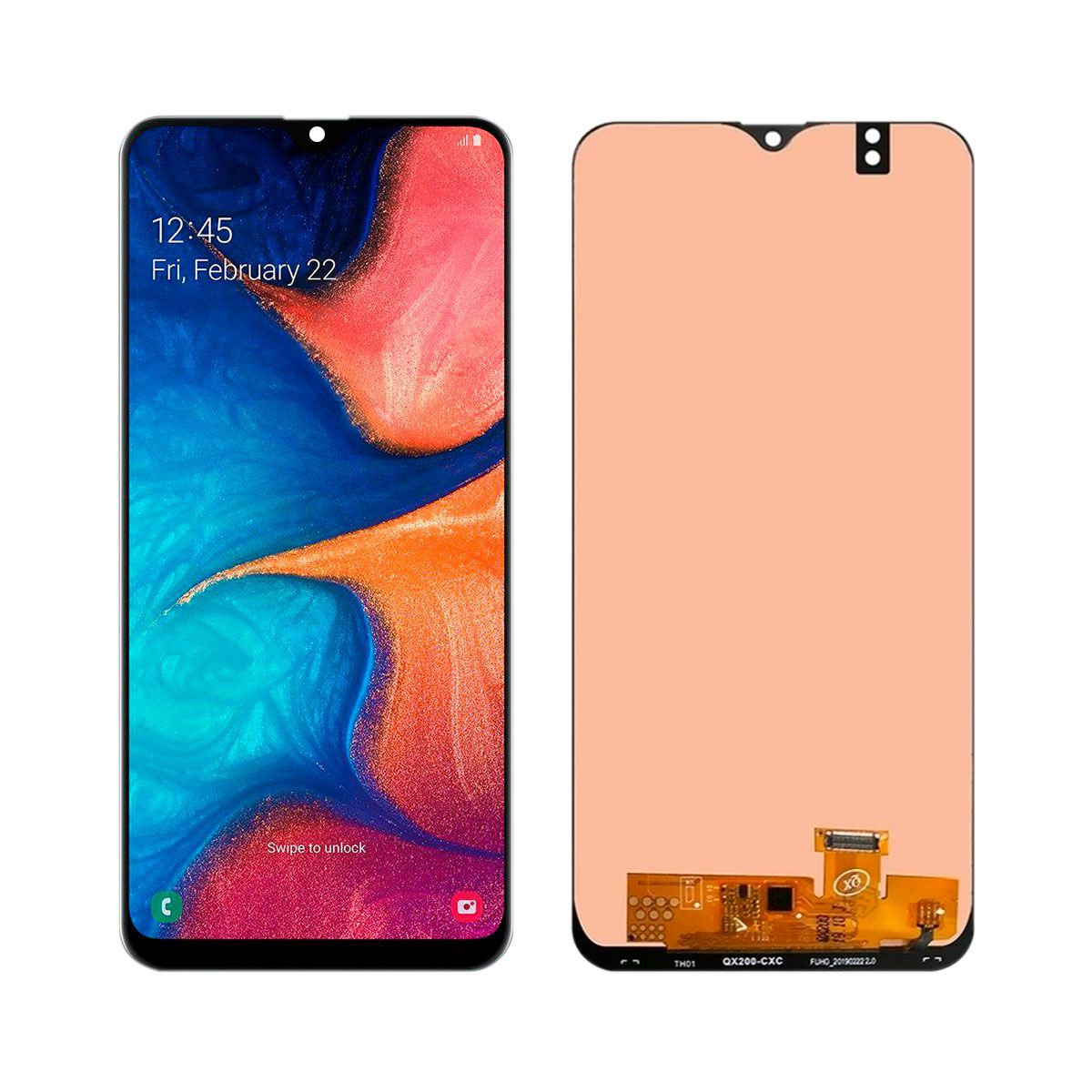Tela Touch Screen Display Lcd Galaxy A20 Original