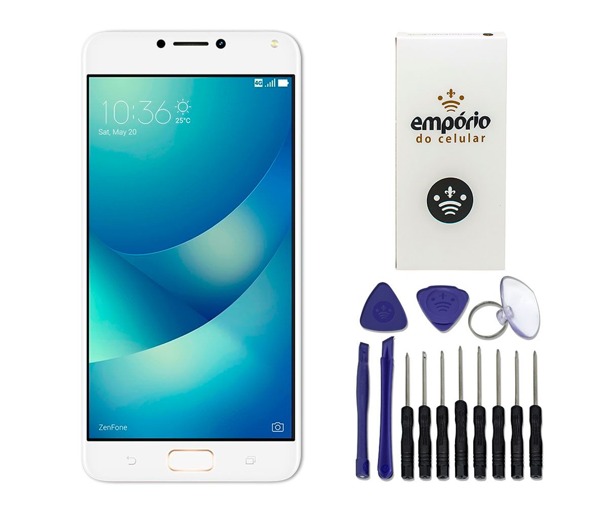 Tela Touch Screen Display Lcd Asus Zenfone 4 Max