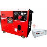 Gerador Diesel Monofásico 6 kVA