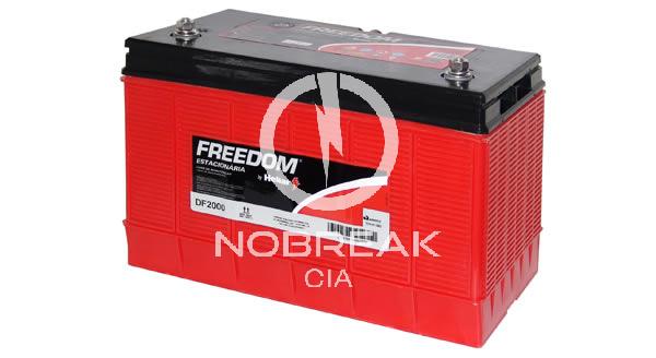 Bateria Estacionária 105 Ah Freedom DF 2000