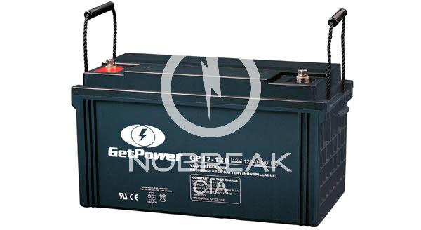 Bateria Selada VRLA 120 Ah Get Power GP12-120