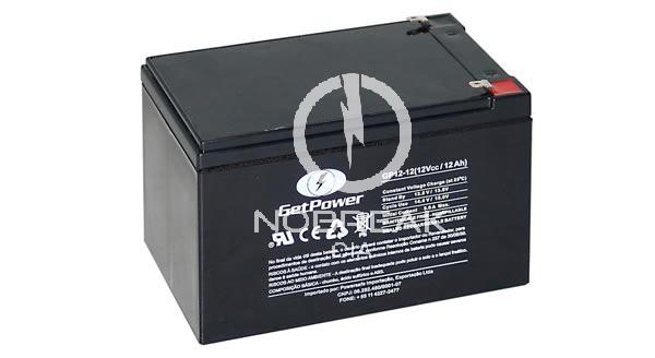 Bateria Selada VRLA 12Ah Get Power GP 12-12