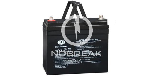 Bateria Selada VRLA 33 Ah Get Power GP12-33