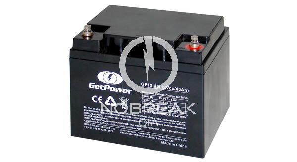 Bateria Selada VRLA 45 Ah Get Power GP12-45