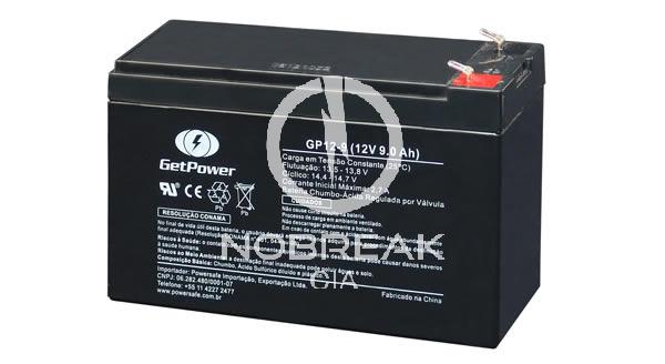 Bateria Selada VRLA 9 Ah Get Power GP12-9