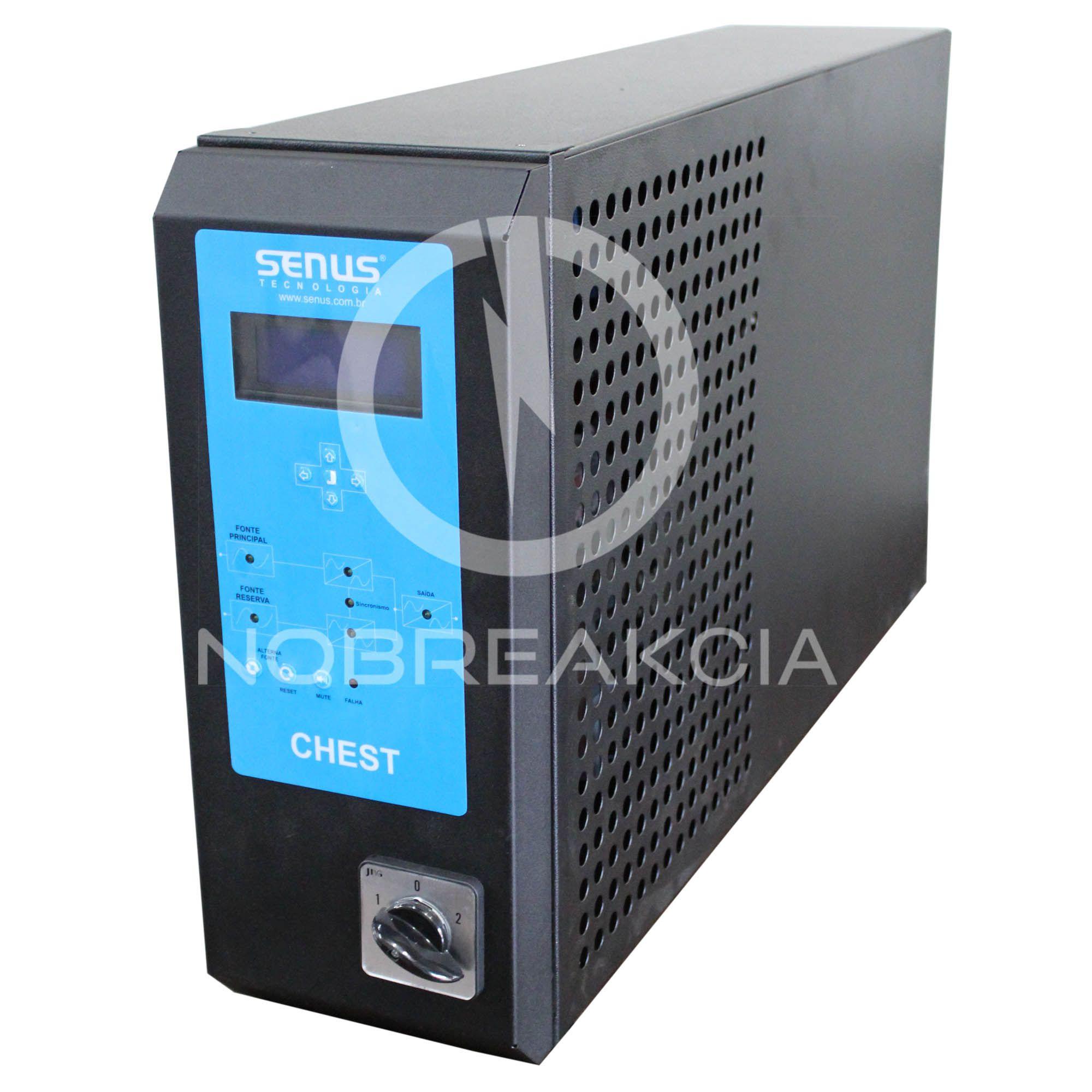 Chave Estática Senus 10,0 kVA