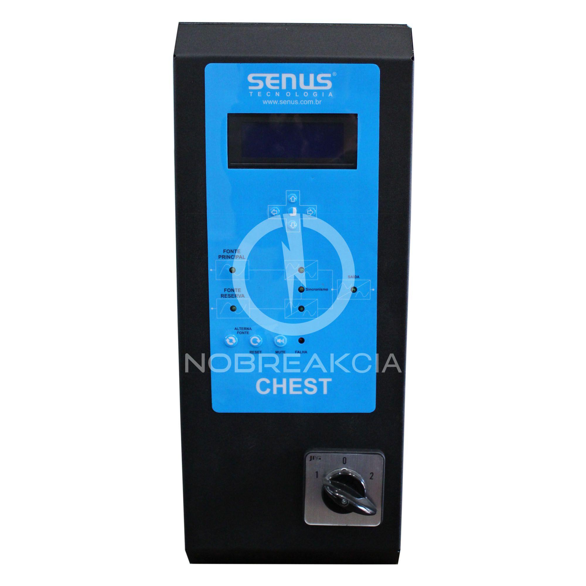 Chave Estática Senus Monofásica 20,0 kVA