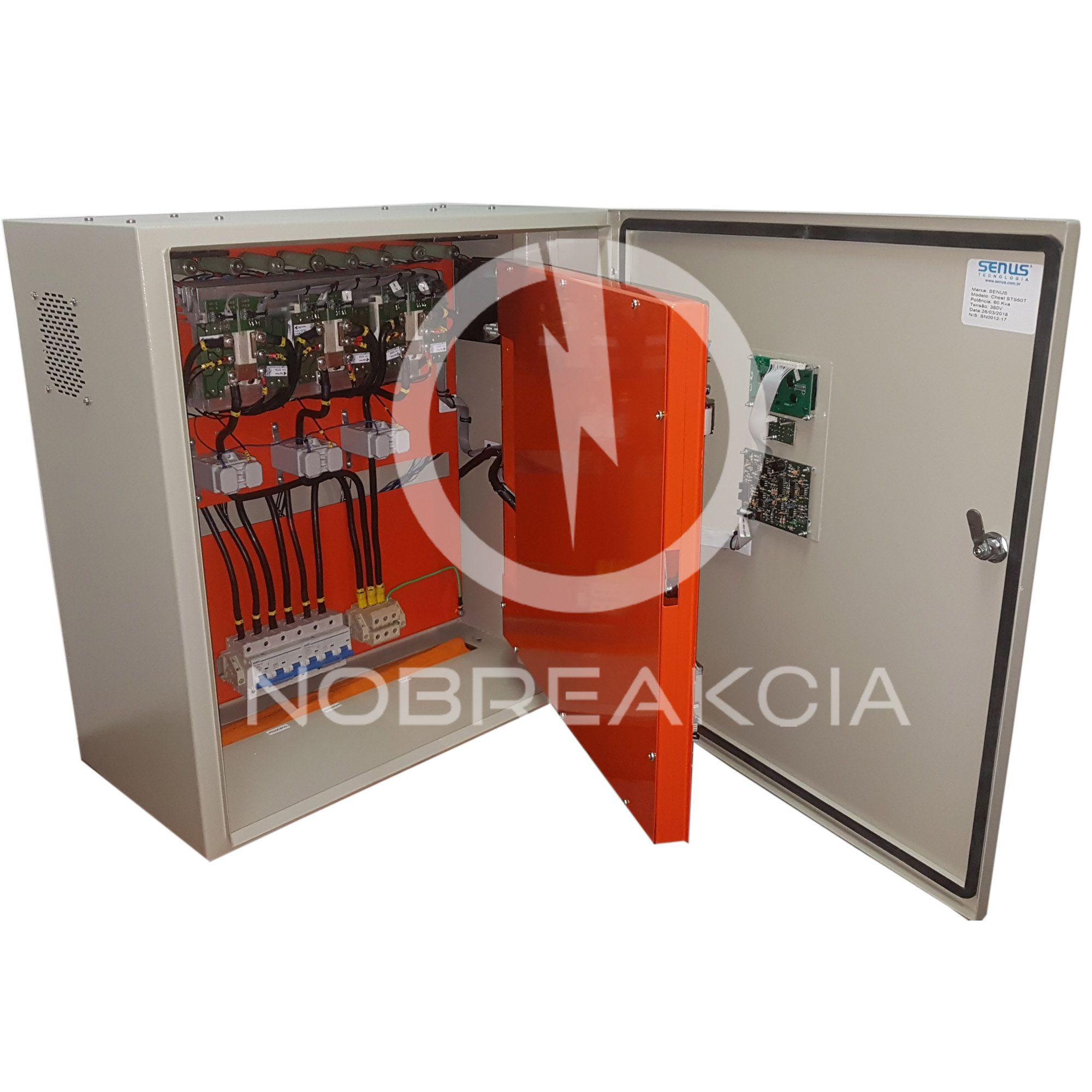 Chave Estática Trifásica Senus 20,0 kVA