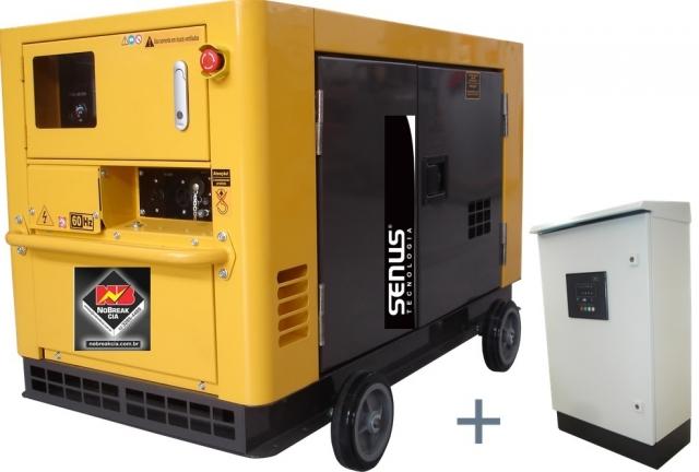 Gerador Diesel Monofásico 11,5 kVA