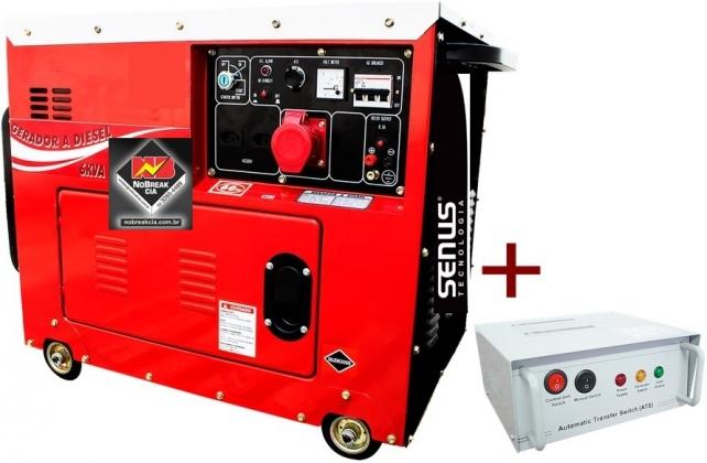 Gerador Diesel Trifásico 6 kVA