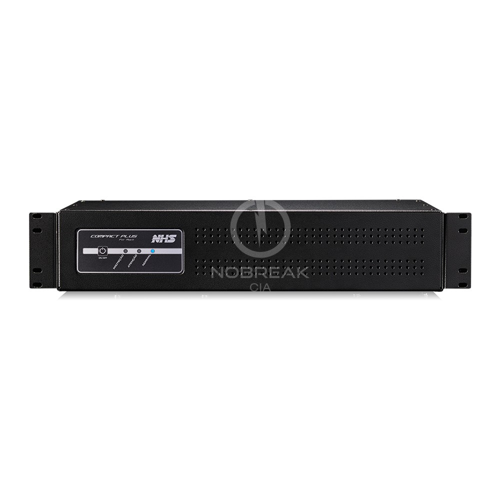 NOBREAK NHS COMPACT PLUS RACK 2U 1200VA