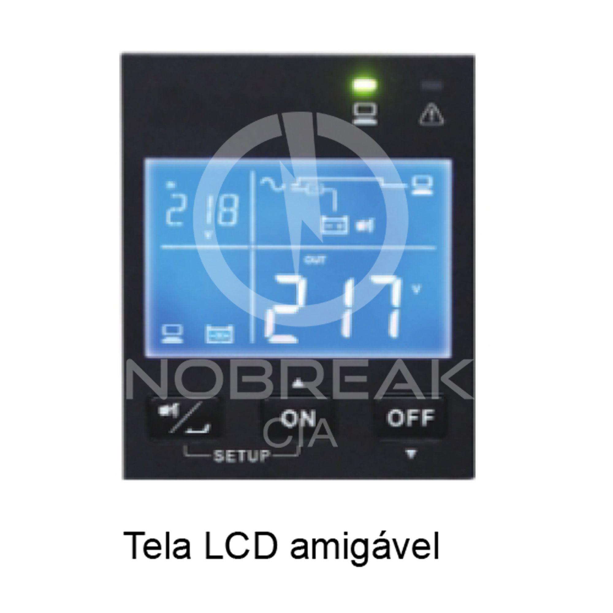 Nobreak DELTA Linha R 3,0Kva